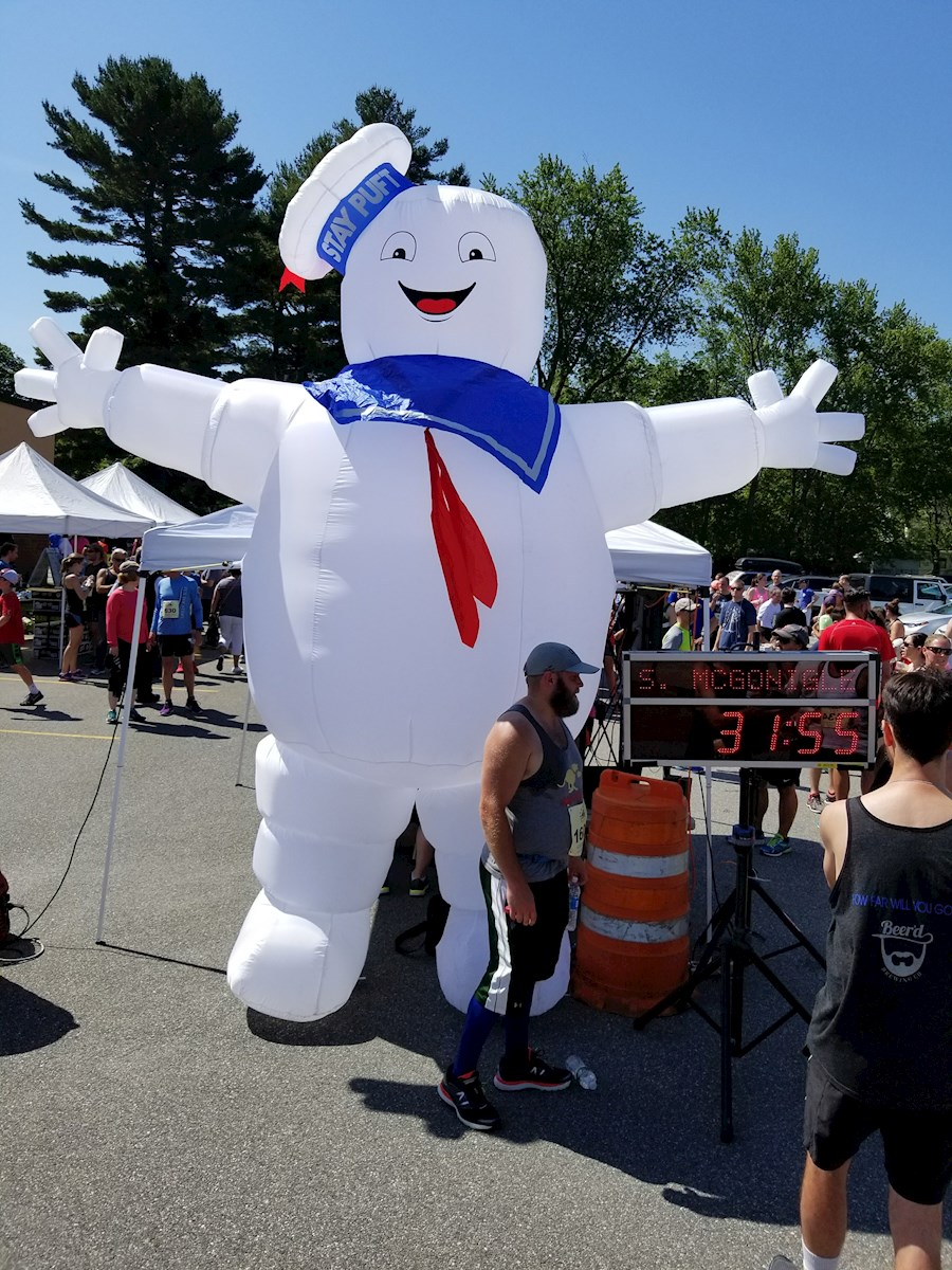 Stay Puft Marshmallow at the Gaspee Days 5K